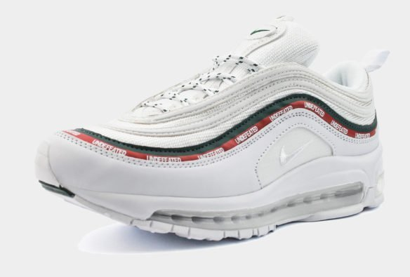 Nike Air Max 97 Undefeated белые