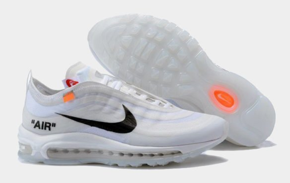 Фото Nike x OFF WHITE Air Max 97 белые - 1