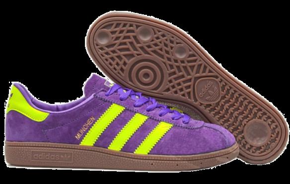 Фото Adidas Munchen Пурпурные - 1