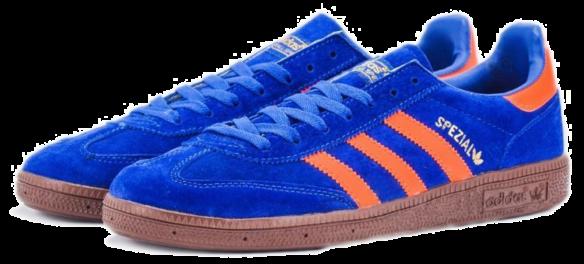 Фото Adidas Spezial Синие - 1